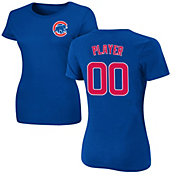 Majestic Women's Full Roster Chicago Cubs Royal T-Shirt