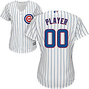 Majestic Women's Full Roster Cool Base Replica Chicago Cubs Home White Jersey