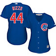 Majestic Women's Replica Chicago Cubs Anthony Rizzo #44 Cool Base Alternate Royal Jersey