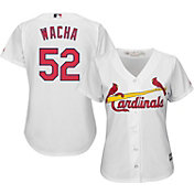 Majestic Women's Replica St. Louis Cardinals Michael Wacha #52 Cool Base Home White Jersey