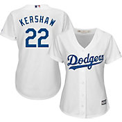 Product Image · Majestic Women s Replica Los Angeles Dodgers Clayton  Kershaw  22 Cool Base Home White Jersey 6614c6b235a