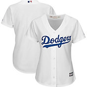 Majestic Women's Replica Los Angeles Dodgers Cool Base Home White Jersey