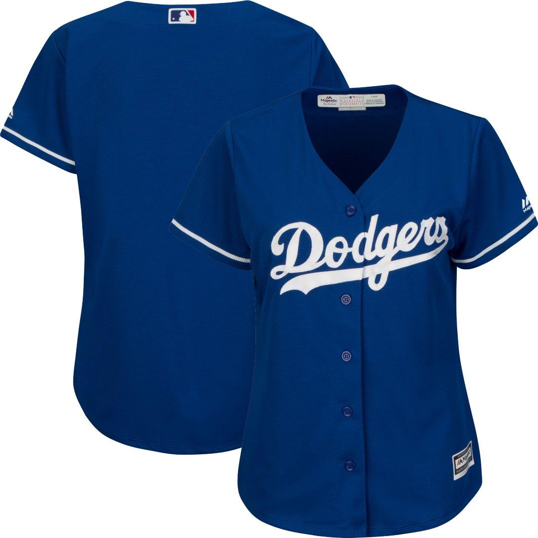 31a0c225 Majestic Women's Replica Los Angeles Dodgers Cool Base Alternate Royal  Jersey