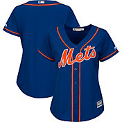 Majestic Women's Replica New York Mets Cool Base Alternate Home Royal Jersey