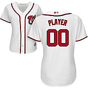 Majestic Women's Full Roster Cool Base Replica Washington Nationals Home White Jersey