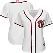 Majestic Women's Replica Washington Nationals Cool Base Home White Jersey