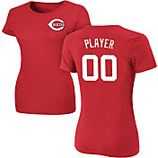 Majestic Women's Full Roster Cincinnati Reds Red T-Shirt