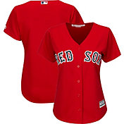 Majestic Women's Replica Boston Red Sox Cool Base Alternate Red Jersey