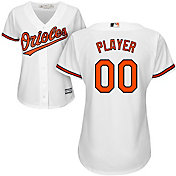 Majestic Women's Full Roster Cool Base Replica Baltimore Orioles Home White Jersey