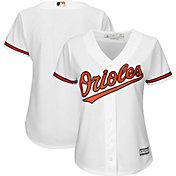 Majestic Women's Replica Baltimore Orioles Cool Base Home White Jersey
