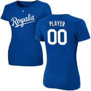 Majestic Women's Full Roster Kansas City Royals Royal T-Shirt