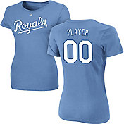 Majestic Women's Full Roster Kansas City Royals Light Blue T-Shirt