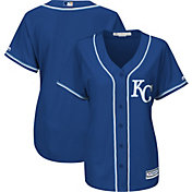 Majestic Women's Replica Kansas City Royals Cool Base Alternate Royal Jersey
