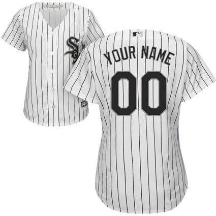 0ec81dea9 Majestic Women s Custom Cool Base Replica Chicago White Sox Home ...