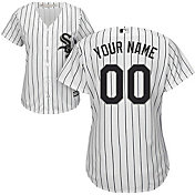 Majestic Women's Custom Cool Base Replica Chicago White Sox Home White Jersey