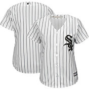 Majestic Women's Replica Chicago White Sox Cool Base Home White Jersey