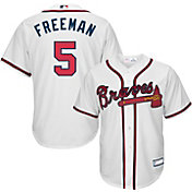 Youth Replica Atlanta Braves Freddie Freeman #5 Home White Jersey
