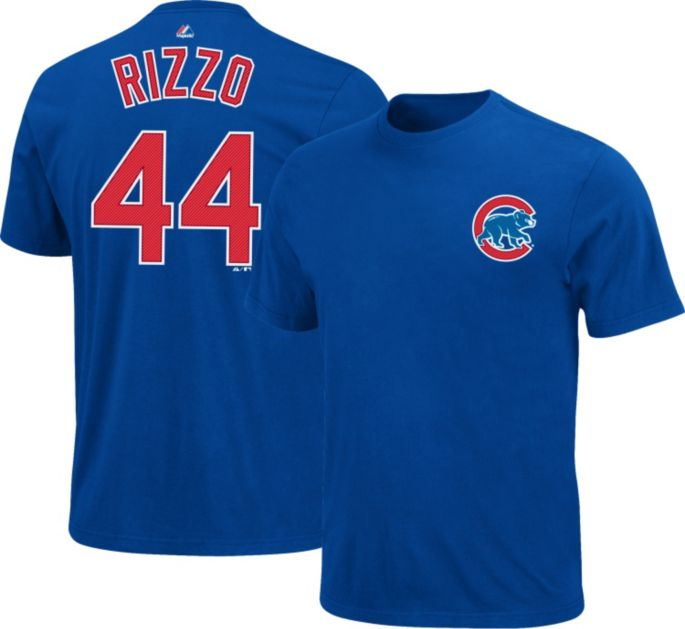 san francisco bc7c0 48ea4 Majestic Youth Chicago Cubs Anthony Rizzo #44 Royal T-Shirt