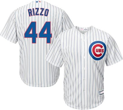 71fd921b9 Youth Replica Chicago Cubs Anthony Rizzo  44 Home White Jersey. noImageFound