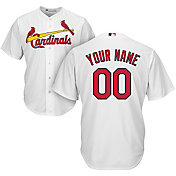 7eeb65b6db40 Product Image · Majestic Youth Custom Cool Base Replica St. Louis Cardinals  Home White Jersey