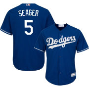 Youth Replica Los Angeles Dodgers Corey Seager #5 Alternate Royal Jersey