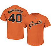 Majestic Youth San Francisco Giants Madison Bumgarner #40 Orange T-Shirt