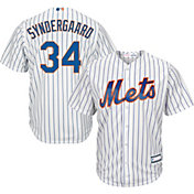Youth Replica New York Mets Noah Syndergaard #34 Home White Jersey