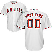 722c3992daa Product Image · Majestic Youth Custom Cool Base Replica Los Angeles Angels  Home White Jersey