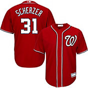 Youth Replica Washington Nationals Max Scherzer #31 Alternate Red Jersey