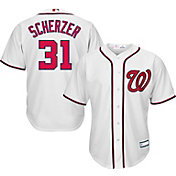 Youth Replica Washington Nationals Max Scherzer #31 Home White Jersey