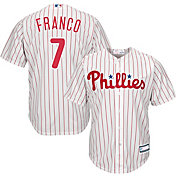 Youth Replica Philadelphia Phillies Maikel Franco #7 Home White Jersey