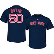 Majestic Youth Boston Red Sox Mookie Betts #50 Navy T-Shirt
