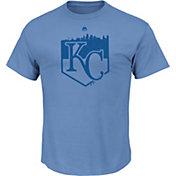 Majestic Youth Kansas City Royals Going Home Light Blue T-Shirt