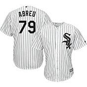 Majestic Youth Replica Chicago White Sox Jose Abreu #79 Cool Base Home White Jersey