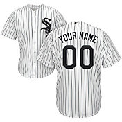 Majestic Youth Custom Cool Base Replica Chicago White Sox Home White Jersey