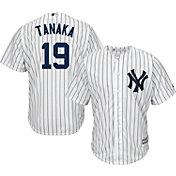 Majestic Youth Replica New York Yankees Masahiro Tanaka #19 Cool Base Home White Jersey