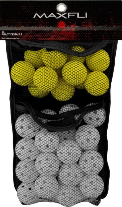 Maxfli Foam & Plastic Practice Golf Balls