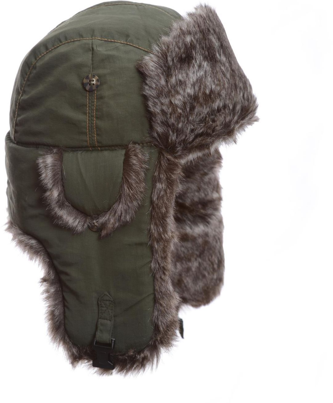 c37594c5 Mad Bomber Men's Olive Supplex Faux Fur Bomber Hat | DICK'S Sporting ...