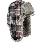 9063906fbfd Product Image · Mad Bomber Men s Wool Plaid Faux Fur Wool Bomber