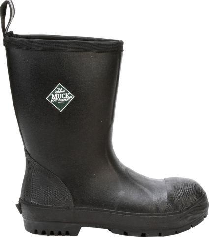 Muck Boots Men's Chore Resistant Mid Steel Toe Work Boots