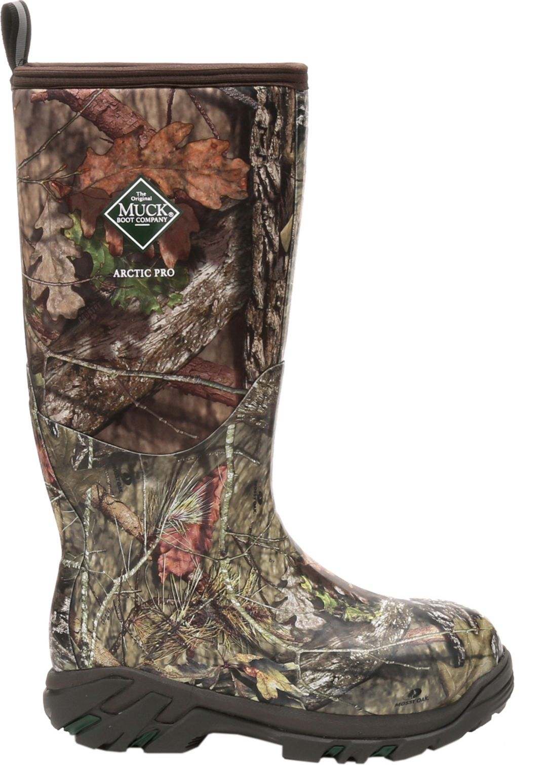 4d5cc9ad55237 Muck Boots Men's Arctic Pro Mossy Oak Break-Up Insulated Rubber Hunting  Boots 1