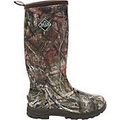 Muck Boots Men's Woody Plus Mossy Oak Country Insulated Rubber Hunting Boots