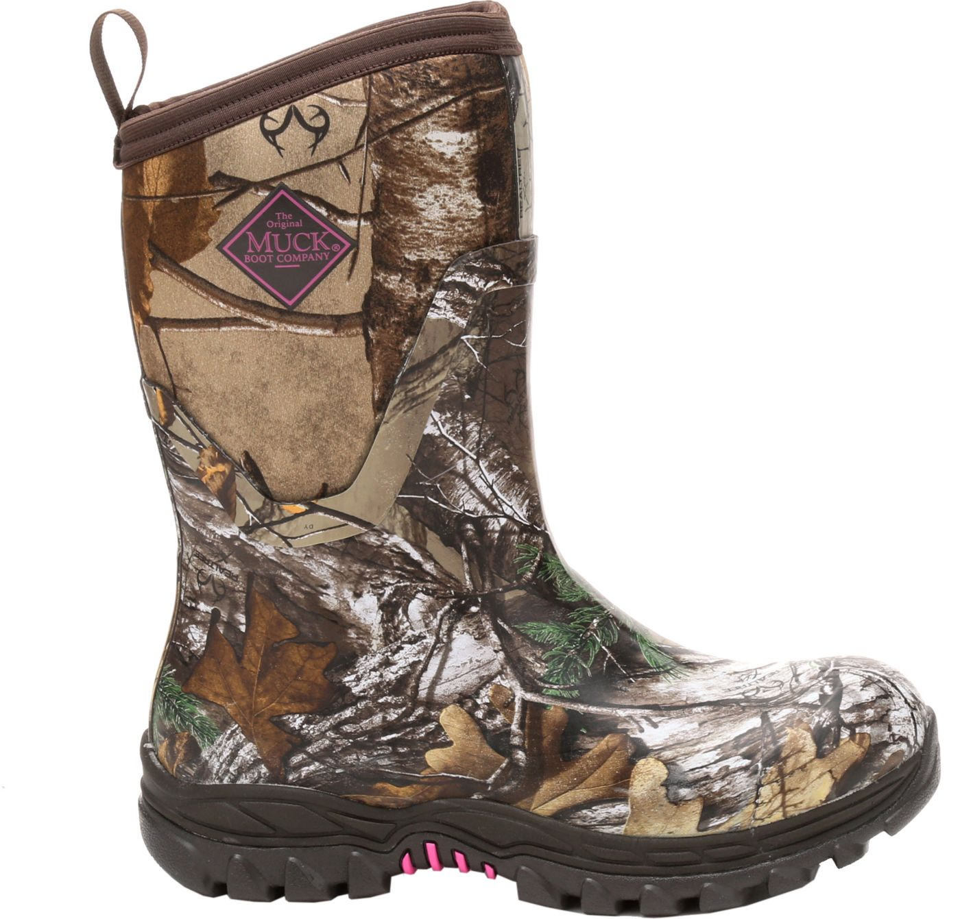 Muck Boots Women's Arctic Hunter Mid Realtree Xtra Rubber Hunting Boots
