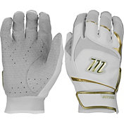 Marucci Adult Gold Signature Series Batting Gloves