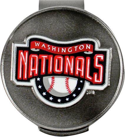 McArthur Sports Washington Nationals Hat Clip And Ball Marker