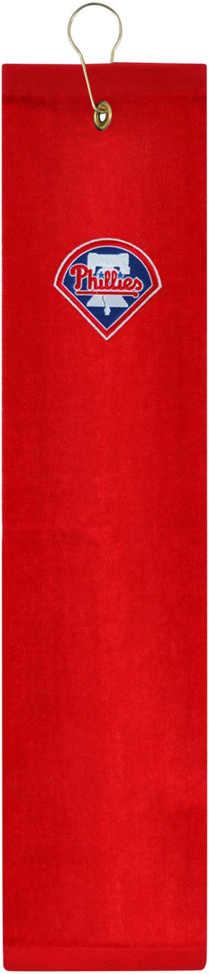 McArthur Sports Philadelphia Phillies Embroidered Tri-Fold Towel