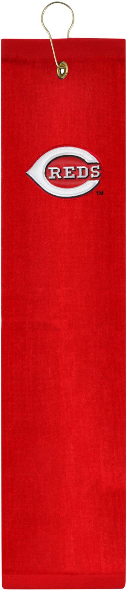 McArthur Sports Cincinnati Reds Embroidered Tri-Fold Towel