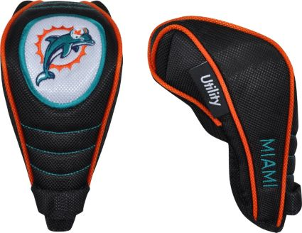 McArthur Sports Shaft Gripper Miami Dolphins Hybrid Headcover