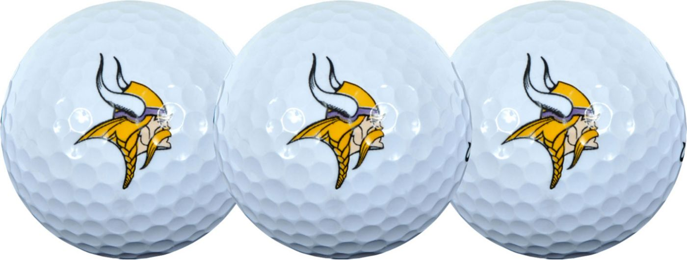 McArthur Sports Minnesota Vikings 3-Pack Golf Ball Sleeve