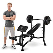 Product Image · Marcy Standard Weight Bench And 80 Lb. Weight Set